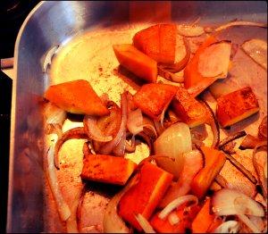 pan fry veg