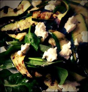 salad w zucchini